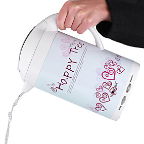 preiswerte Elektrische Wasserkocher-LITBest Wasserkocher 7168 Edelstahl Weiß