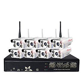 preiswerte Sicherheitssysteme-1080p 8 Voice Intercom Suite Wireless-System zur Überwachung von Überwachungsgeräten