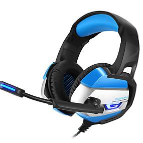 voordelige Gaming-LITBest Hoofdtelefoon & Headset Bekabeld Hoofdtelefoons Koptelefoon Imitatieleer / ABS hars / Metaal Gaming koptelefoon koptelefoon