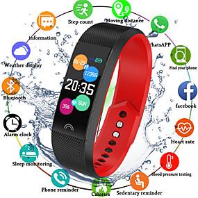 preiswerte Electronics-Indear F6 Herren Smart-Armband Android iOS Bluetooth Smart Sport Wasserfest Herzschlagmonitor Blutdruck Messung Schrittzähler Anruferinnerung AktivitätenTracker Schlaf-Tracker Sedentary Erinnerung