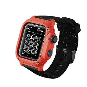 billige Telefoner og tilbehør-smartwatch-etui til Apple Watch Series 6 / SE / 5/4 Silikon Apple Watch Case 44mm 42mm