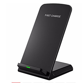 cheap Wireless Chargers-Wireless Charger USB Charger Universal Wireless Charger / Qi 1 USB Port 2 A 110~220 V for iPhone X / iPhone 8 Plus / S9