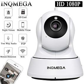povoljno IP kamere-inqmega cloud 1080p 2.0mp ptz ip kamera bežično automatsko praćenje kućne sigurnosne nadzorne kamere 3.6mm objektiv pametna wifi kamera otkrivanje pokreta dvosmjerni audio noćno vidjenje telefona nadz