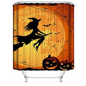 povoljno Halloween-Tuš zavjese i kuke Suvremena Plastika / Poliester Vodootporno / Cool