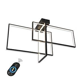 povoljno Stropna svjetla i ventilatori-moderna ugradbena svjetla / led stropna svjetla za dnevnu sobu blagovaonica / topla bijela / bijela / prigušiva s daljinskim / wifi kontrolama izvodljivima na amazon echo ili google home play