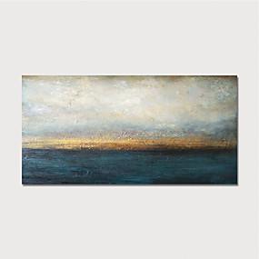 voordelige Schilderijen van landschappen-met de hand beschilderd canvas olieverf abstract huisdecoratie met frame schilderij klaar om op te hangen