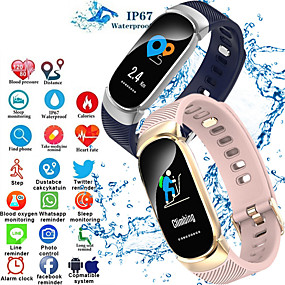 billige Elektrisk utstyr og verktøy-s3 smart armbånd Bluetooth fitness tracker støtte hjertefrekvensovervåking / kalorier forbrent sports smartklokke for samsung / iphone / android telefoner