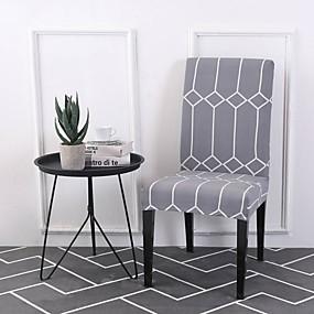 preiswerte Pantoffeln-Stuhlabdeckung Zeitgenössisch Bedruckt Polyester Überzüge