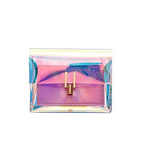 preiswerte Taschen-Damen Kette PVC Schultertasche Blau / Silber / Rosa