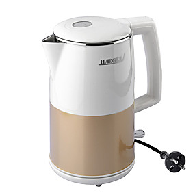 preiswerte Elektrische Wasserkocher-LITBest Wasserkocher 7803 Edelstahl Weiß