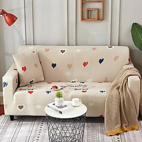 preiswerte Pantoffeln-Sofabezug Druck Garngefärbt / Bedruckt Polyester Überzüge
