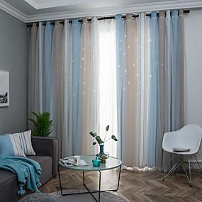 Χαμηλού Κόστους Κουρτίνες-Νεοκλασικό Μυστικότητα Ένα Πάνελ Κουρτίνα Υπνοδωμάτιο   Curtains / Ζακάρ