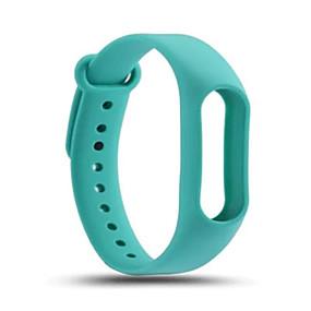 cheap Smartwatch Bands-Watch Band for Mi Band 2 Xiaomi Sport Band Silicone Wrist Strap