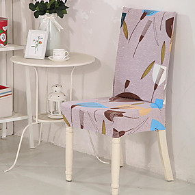 cheap Slipcovers-Dandelion Print Very Soft Chair Cover Stretch Removable Washable Dining Room Chair Protector Slipcovers Home Decor Dining Room Seat Cover