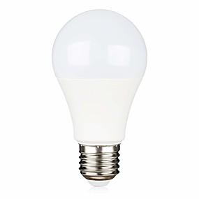billige Globepærer med LED-AC / dc12 volt ledet lys lavspenning pære 5w (40w ekvivalent) e26 / e27 standard base kjølig hvit 6500k varm hvit 2700k lavspenning lyspærer for off grid solbelysning rv belysning båt belysning