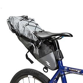 preiswerte Fahrradsatteltaschen-SAHOO 3-10 L Fahrrad-Sattel-Beutel Radfahren Outdoor Langlebig Fahrradtasche Nylon Tasche für das Rad Fahrradtasche Radsport Outdoor Übungen Scooter
