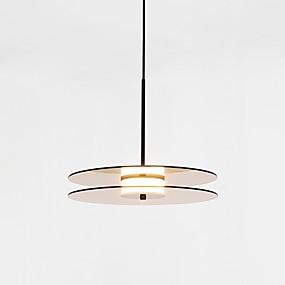 povoljno Lámpatestek-CONTRACTED LED® Geometrijski Privjesak Svjetla Ambient Light Slikano završi Glass Glass Mat, Kreativan, Prijelaz boje 110-120V / 220-240V