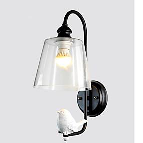 preiswerte Beleuchtung-bezaubernd Moderne zeitgenössische Wandlampen Schlafzimmer / Studierzimmer / Büro Metall Wandleuchte 110-120V / 220-240V 40 W