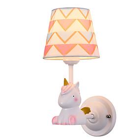 povoljno Lámpatestek-Ecolight Djecu / Slatko Jednostavan / Suvremena suvremena Zidne svjetiljke Djevojke Soba / Dječja soba Metal zidna svjetiljka 110-120V / 220-240V 60 W