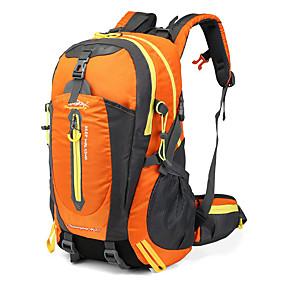 preiswerte camping & Wandern-Wanderrucksack 40 L - Wasserdicht Regendicht tragbar Außen Camping & Wandern Klettern Reisen Terylen Maschen Nylon Rot Blau Leicht Grün