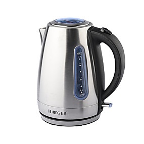 preiswerte Elektrische Wasserkocher-LITBest Wasserkocher 7819 Edelstahl Silber