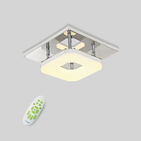 "cheap Ceiling Lights & Fans-1-Light 22(8.8"") LED Flush Mount Lights Metal Electroplated Modern Contemporary 90-240V"