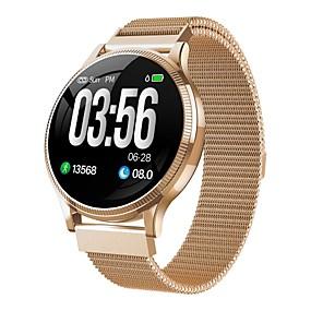 preiswerte Premium Electronics,  Up To 87% Off-Indear MK08 Damen Smartwatch Android iOS Bluetooth Smart Sport Wasserfest Herzschlagmonitor Blutdruck Messung Schrittzähler Anruferinnerung AktivitätenTracker Schlaf-Tracker Sedentary Erinnerung