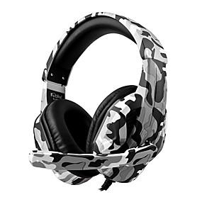 levne Hraní her-nejmenší t-173m camo styl herní sluchátka připojené herní stereo