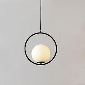 povoljno Viseća rasvjeta-Glob Privjesak Svjetla Ambient Light Golden Metal Glass Prilagodljiv 110-120V / 220-240V Meleg fehér / Hladno bijela