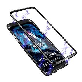 povoljno Maske za mobitele-Θήκη Za Samsung Galaxy S9 / S9 Plus / S8 Plus Translucent Stražnja maska Prozirno Tvrdo Kaljeno staklo