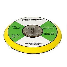 preiswerte Werkzeuge-toolman 6 Klettbackplatte zum Polieren von Schleifpolierkissen