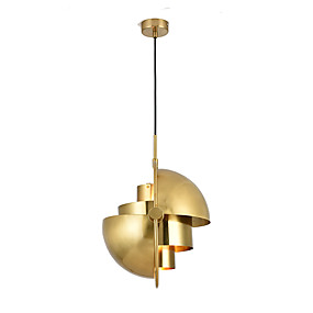 povoljno Lámpatestek-Cirkularno / Mini Privjesak Svjetla Downlight Electroplated Metal Protiv odsjaja, Prilagodljiv, New Design 110-120V / 220-240V