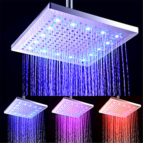 povoljno Tuš glave-Suvremena Tuš s kišnim mlazom Electroplated svojstvo - LED / New Design / Za tuširanje, Tuš Head