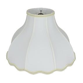 preiswerte LED-Gadgets-Rustikal / Ländlich / Traditionell-Klassisch Augenschutz / Ambient Lampen / Cool Lampenschirm Für Kindergarten / Shops / Cafés Stoff Weiß / Gelb