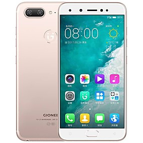 "cheap Cell Phones-GIONEE s10 5.5 inch "" 4G Smartphone ( 6GB + 64GB 16+8 mp MediaTek Helio P25 3450 mAh mAh )"