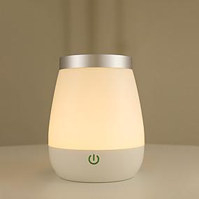 preiswerte Home & Garden-1pc Smart Nachtlicht / Buch Licht RGB + Warm USB Wasserfest / Kreativ / Wiederaufladbar <=36 V / Berührungssensor