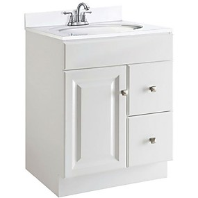 preiswerte Badezimmermöbel-Kunststoff Modern Eitelkeiten Bad Storage