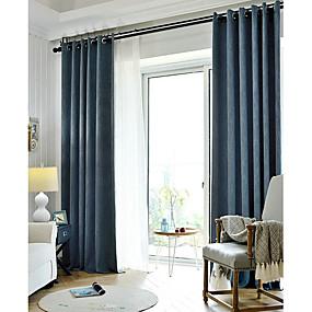 preiswerte Verdunkelungsvorhänge-Verdunkelung Ein Panel Vorhang Wohnzimmer   Curtains