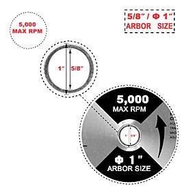 preiswerte Werkzeuge-Kreissägeblatt 12 x1 1 Stk. 80t Hartmetall-Spitzentisch für Dewalt Skil& sehen