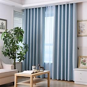 preiswerte Verdunkelungsvorhänge-Europäisch Verdunkelung Ein Panel Vorhang Wohnzimmer   Curtains