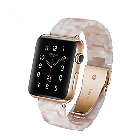 cheap Smartwatch Bands-Watch Band for Apple Watch Series 6 SE 5 4 3 2 1  Apple Modern Buckle Silicone / Rubber Wrist Strap