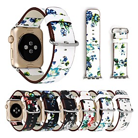 preiswerte Smartwatch-Bands-Uhrenarmband für Apple Watch Series 4/3/2/1 Apple Moderne Schnalle Echtes Leder Handschlaufe