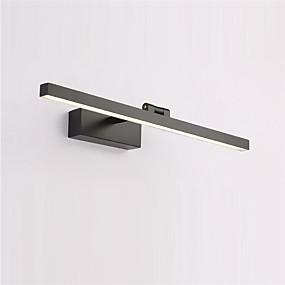 cheap Vanity Lights-LED Mirror Front Lamp 60cm 14W Aluminum Brushed Materials Rotatable Bathroom Lights Adjustable Bedroom Wall Light IP20