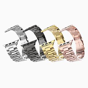 preiswerte Smartwatch-Bands-Uhrenarmband für Apple Watch Series 4/3/2/1 Apple Klassische Schnalle Edelstahl Handschlaufe