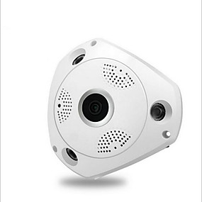 cheap Indoor IP Network Cameras-960P with power supply Nine security scene 360 degree VRCAM wireless wifi HD 960P network camera wide angle fisheye indoor monitoring