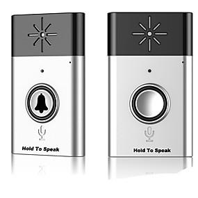 preiswerte Video Türsprechanlage-Fabrik OEM Wireless 2,4 GHz / WiFi Aufnahme kein Bildschirm (Ausgabe per App) Telefon eins zu eins Video-Türsprechanlage