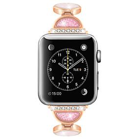 preiswerte Smartwatch-Zubehör-Uhrenarmband für Apple Watch Serie 5/4/3/2/1 Apple Jewelry Design Edelstahl-Armband