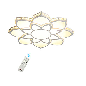 cheap Ceiling Lights & Fans-1-Light Ecolight 80 cm Crystal / Creative / Dimmable Flush Mount Lights Metal Acrylic Crystal / Geometrical / Novelty Painted Finishes LED / Modern 110-120V / 220-240V / FCC