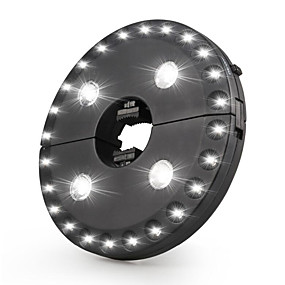 cheap Décor & Night Lights-1pc Umbrella Light 3 Brightness Mode Cordless 28 LED Lights Battery Operated for Umbrellas Camping Tents or Outdoor Use