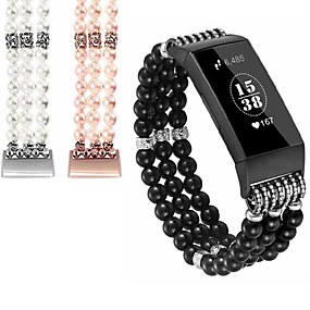 cheap Smartwatch Bands-Watch Band for Fitbit Charge 2 / Fitbit Charge 3 / Fitbit Inspire Fitbit Jewelry Design Ceramic Wrist Strap
